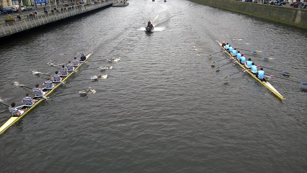 Rowing_St_Patricks_race_In_Dublin