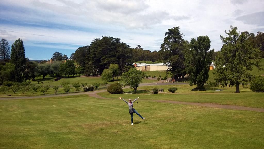 18_Dina_In_Port_Arthur_Tasmania