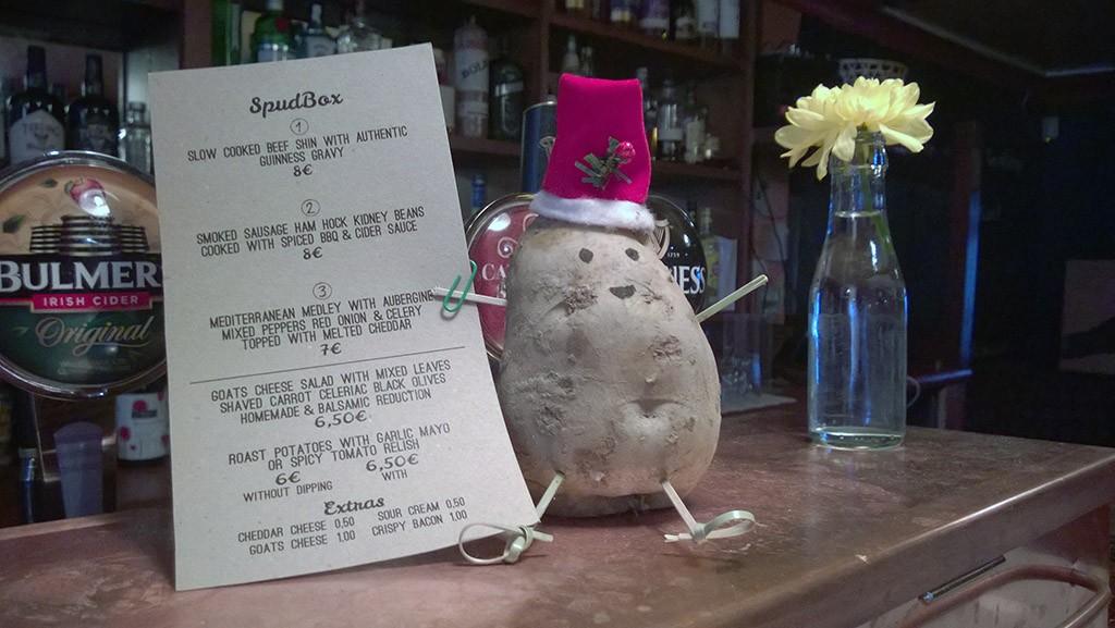 Christmas potato