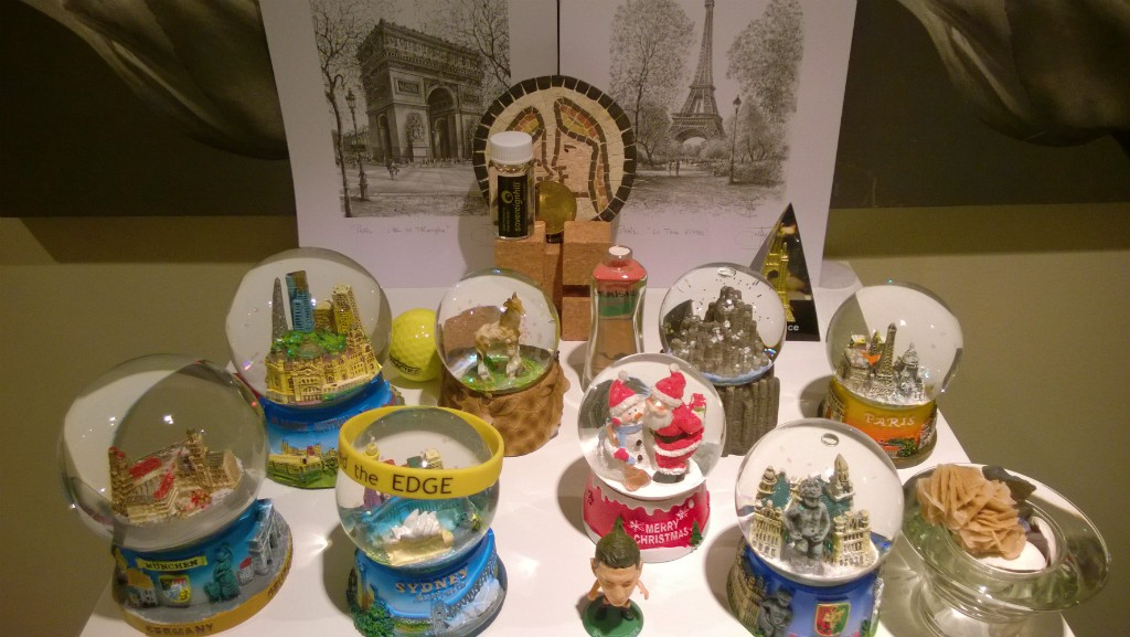 Our Souvenir Snow Globes