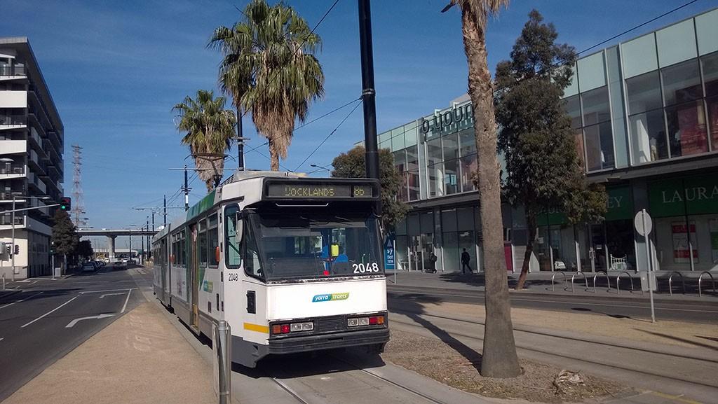 02_Melbourne_Tram_To_Docklands