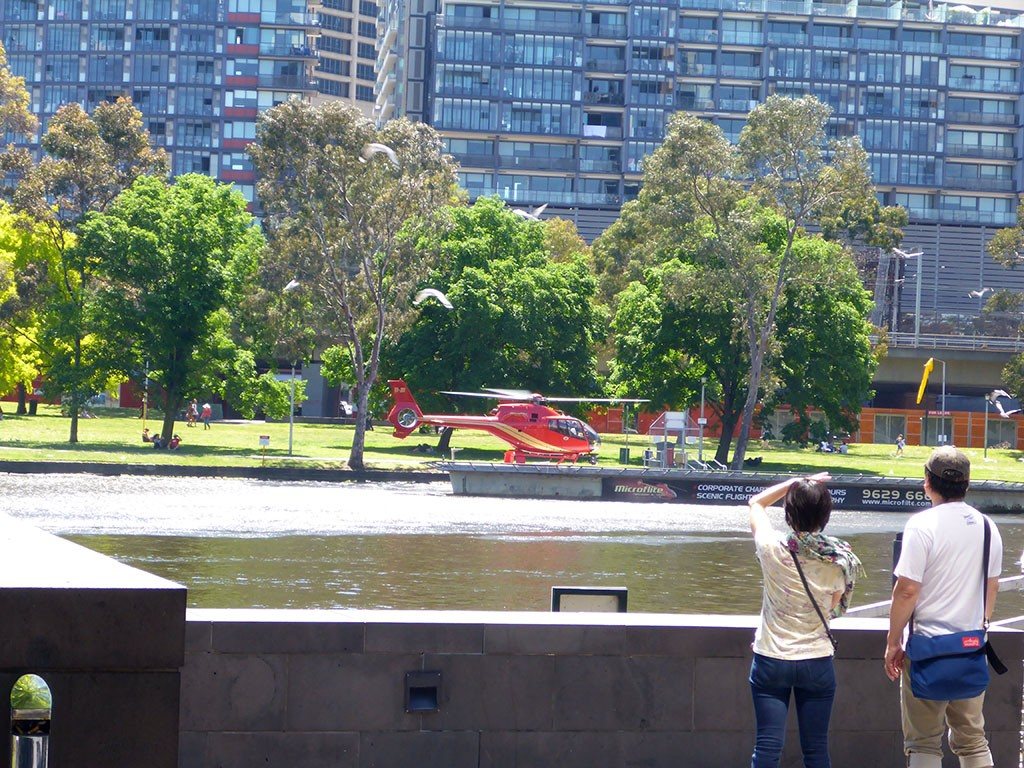 15_Red_Melbourne_Helicopter