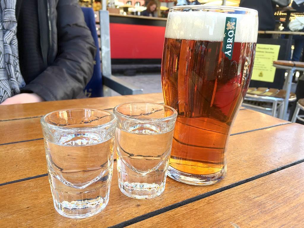 22_Swedish_Akvevit_And_Beer