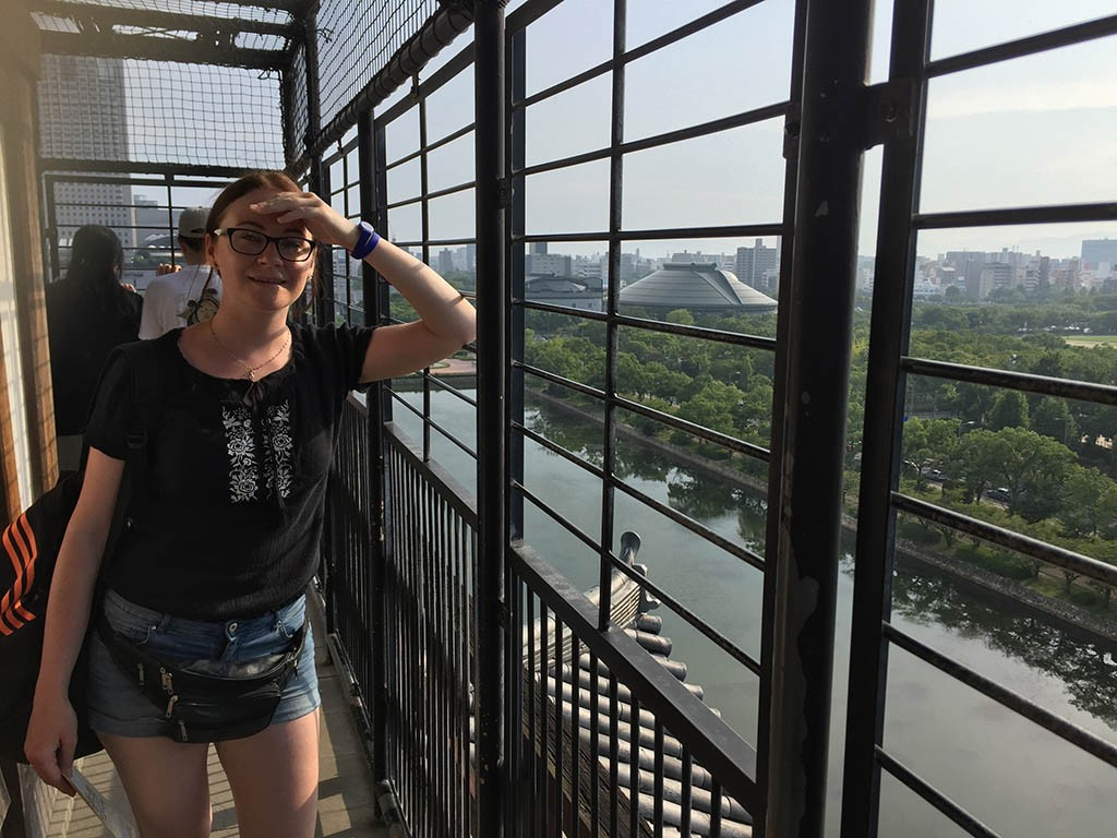 11-Dina-On-Top-Of-Rijo-Castle-In-Hiroshima