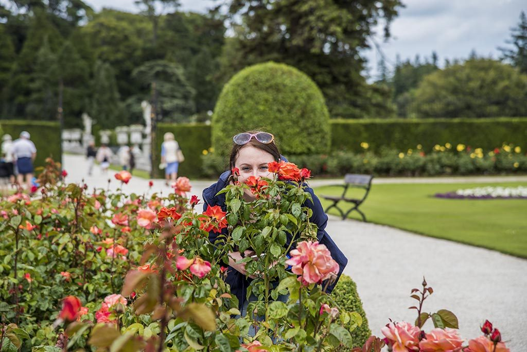 Dina-In-Powerscourt-Rose-Garden