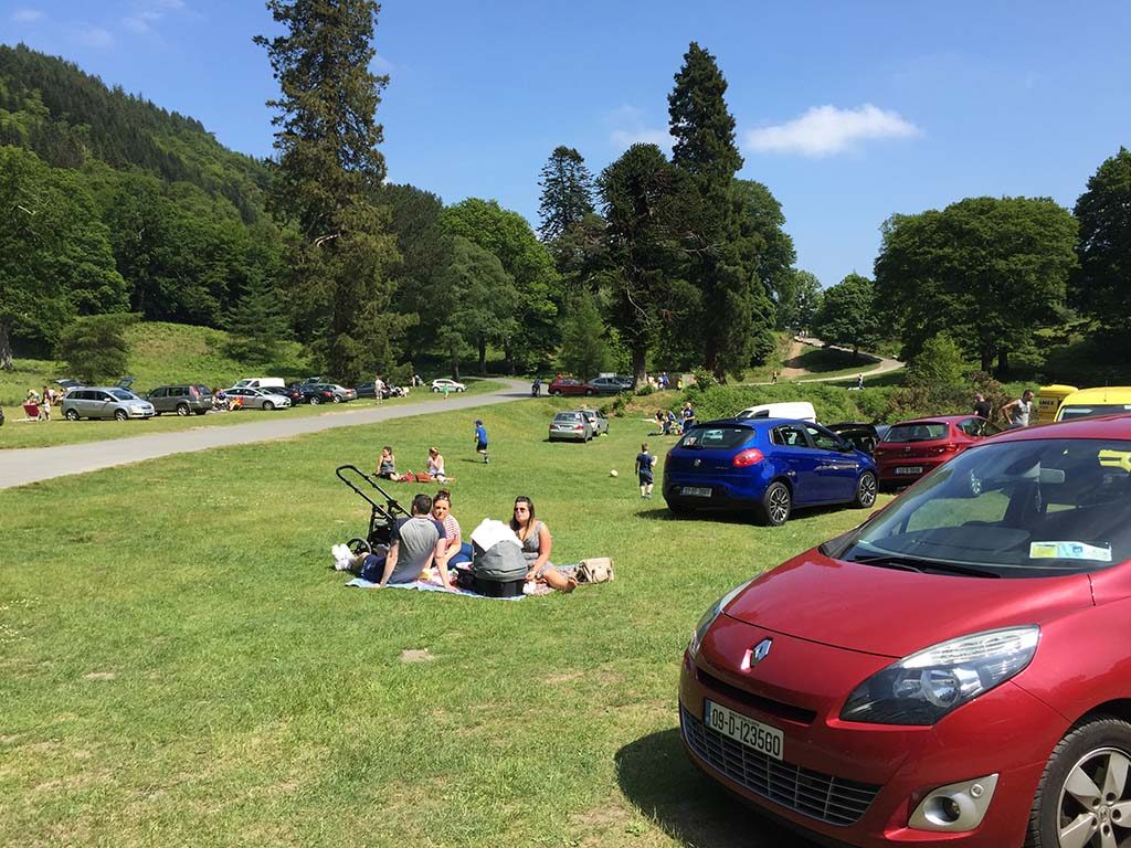 BBQ-At-Powerscoourt-Waterfall