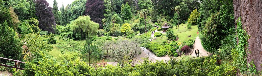 Japanese-Garden-In-Powerscourt-Dublin-Pano-From-Above