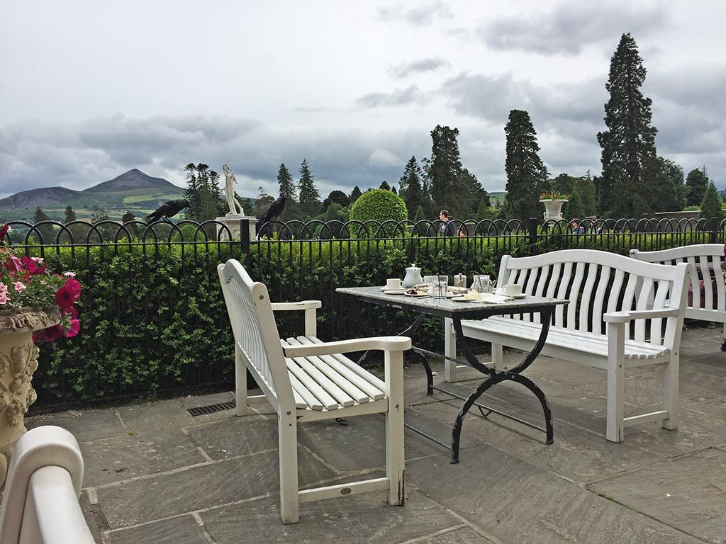Things you should see in ireland powerscourt estate for Open terrace restaurants