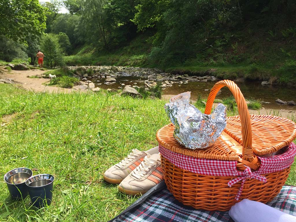 We-On-The-Summer-Picnic-At-Powersourt-Waterfall
